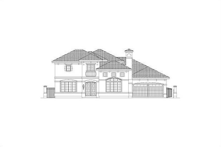 Main image for house plan # 15744