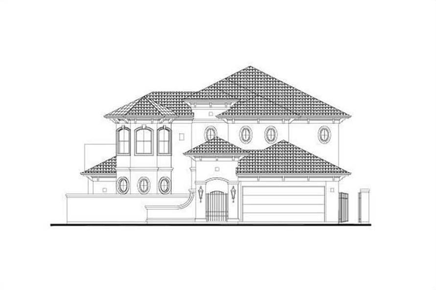 Main image for house plan # 15911