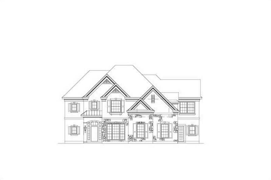 Main image for house plan # 15830
