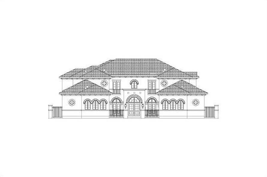 Main image for house plan # 15858