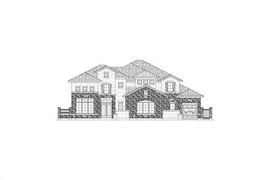 Main image for house plan # 15873