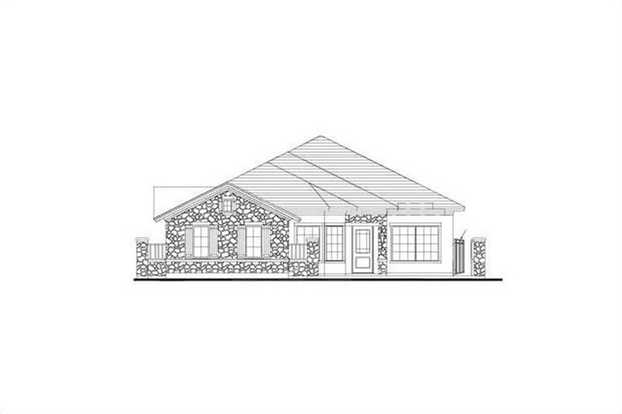Main image for house plan # 15942