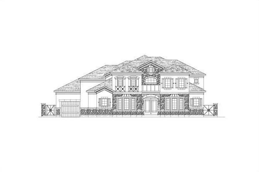 Main image for house plan # 15894