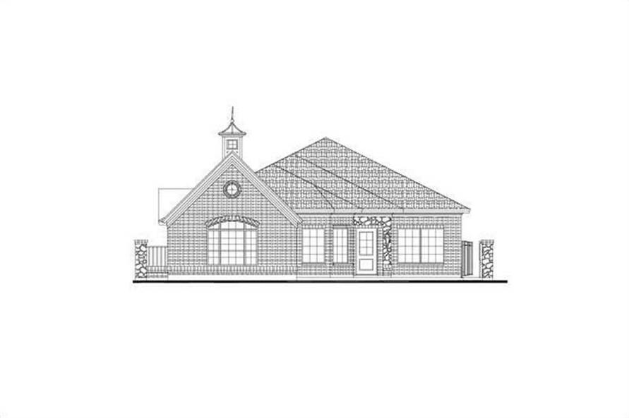 Main image for house plan # 15946