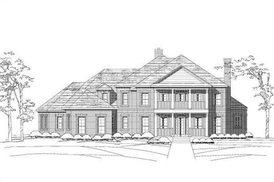 Main image for house plan # 15974