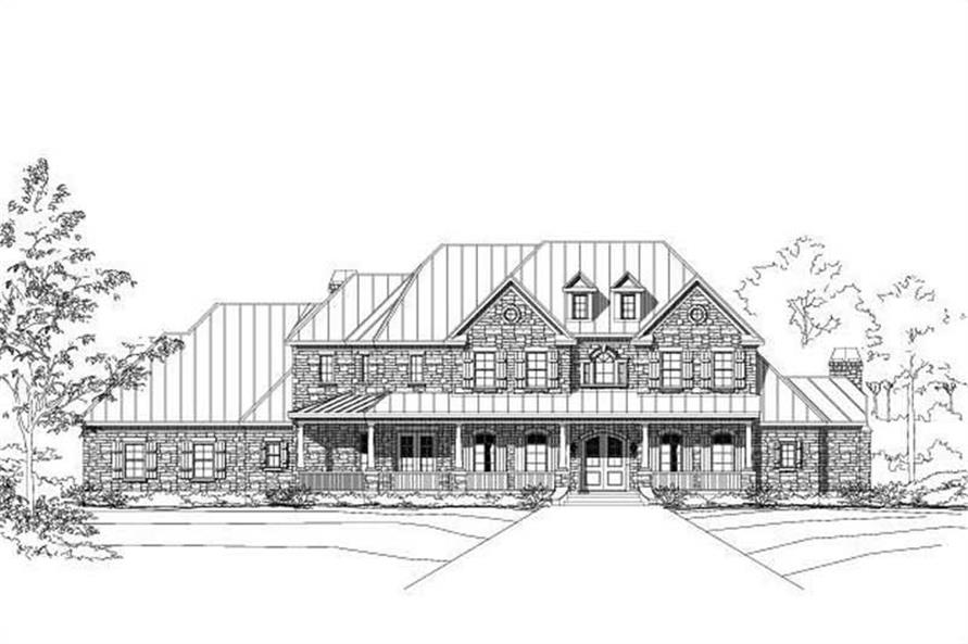 Main image for house plan # 16109