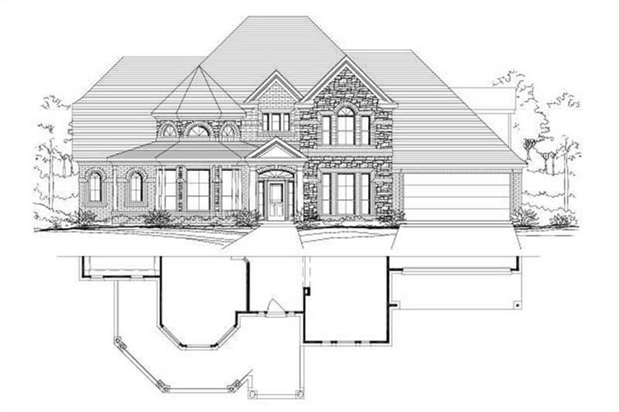 Main image for house plan # 16167