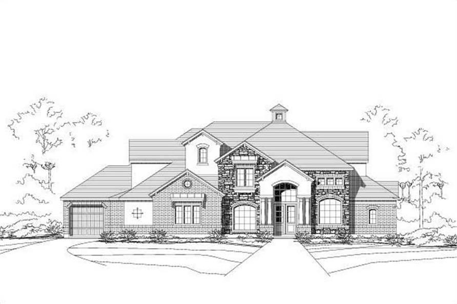 Main image for house plan # 16169