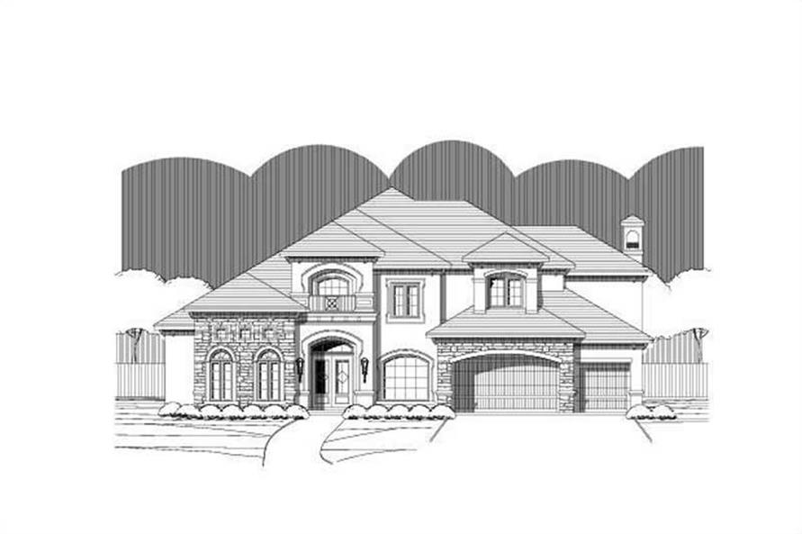 Main image for house plan # 16250