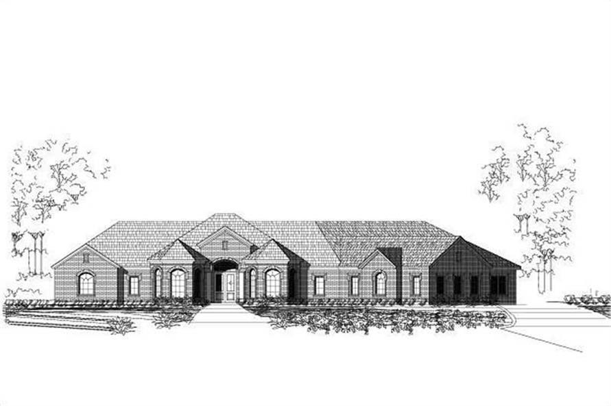 Main image for house plan # 15950