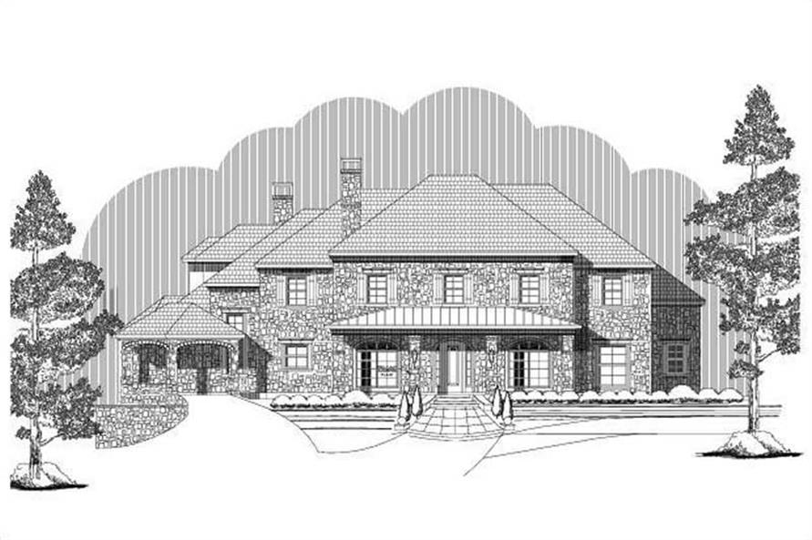 Main image for luxury house plan # 16368