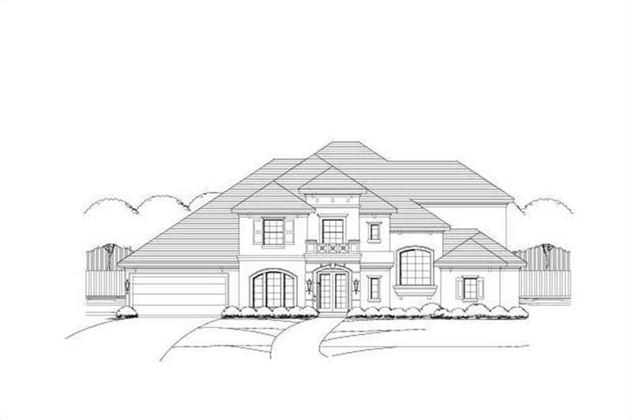 Main image for house plan # 16079