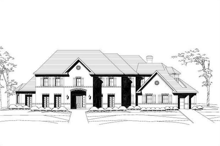 Main image for house plan # 16406