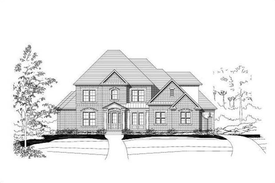 Main image for house plan # 16414