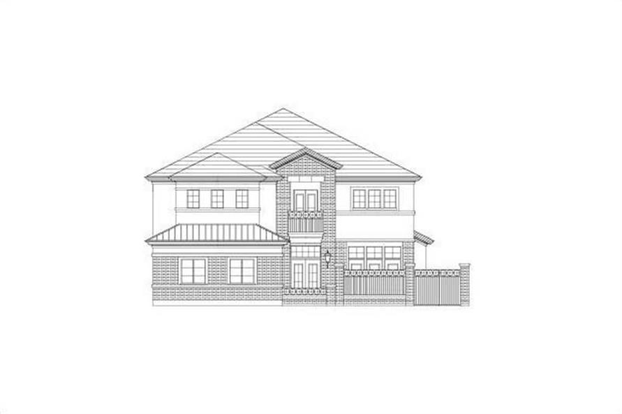 Main image for house plan # 15816