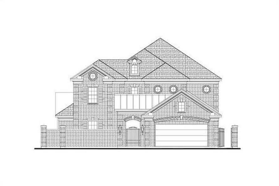 Main image for house plan # 15923