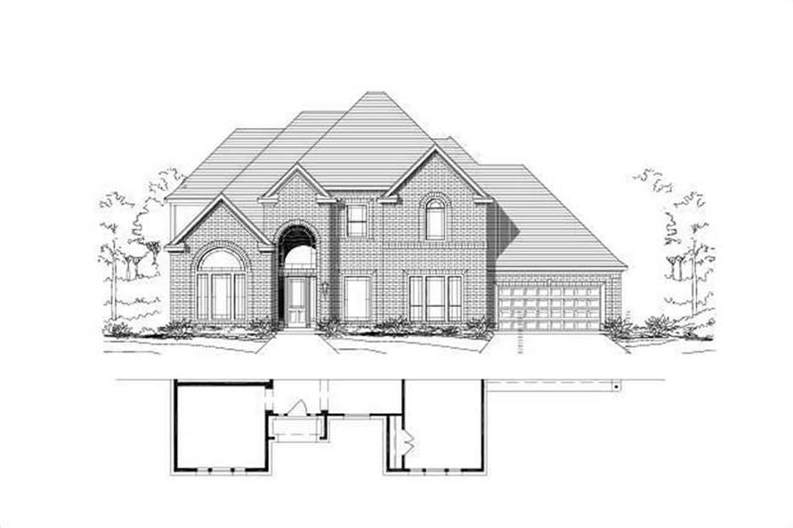 Main image for house plan # 16548