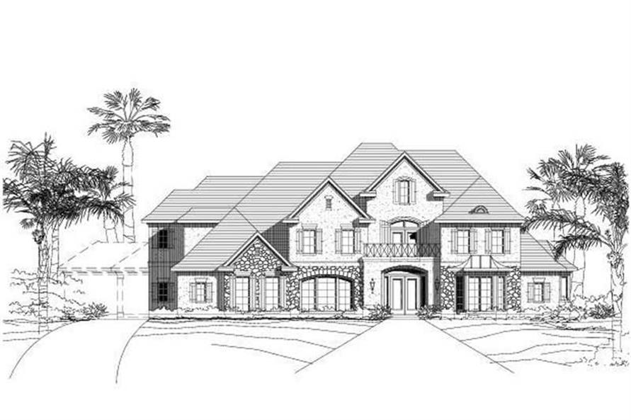 Main image for house plan # 16264