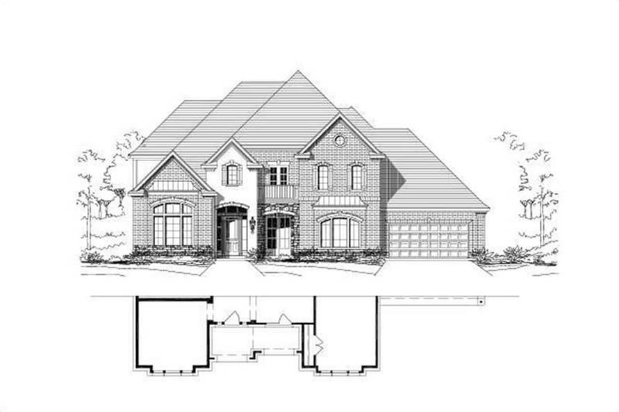 Main image for house plan # 16547