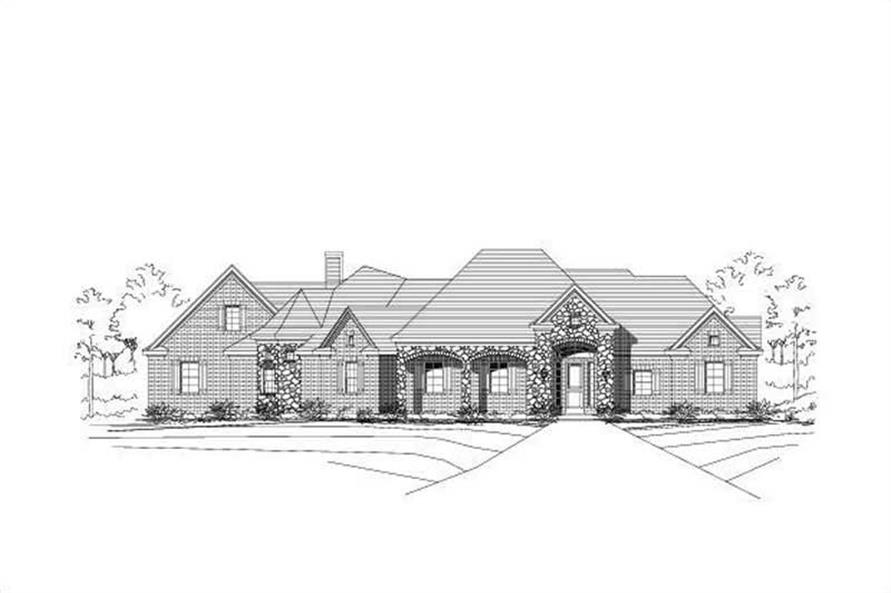 Main image for house plan # 16538