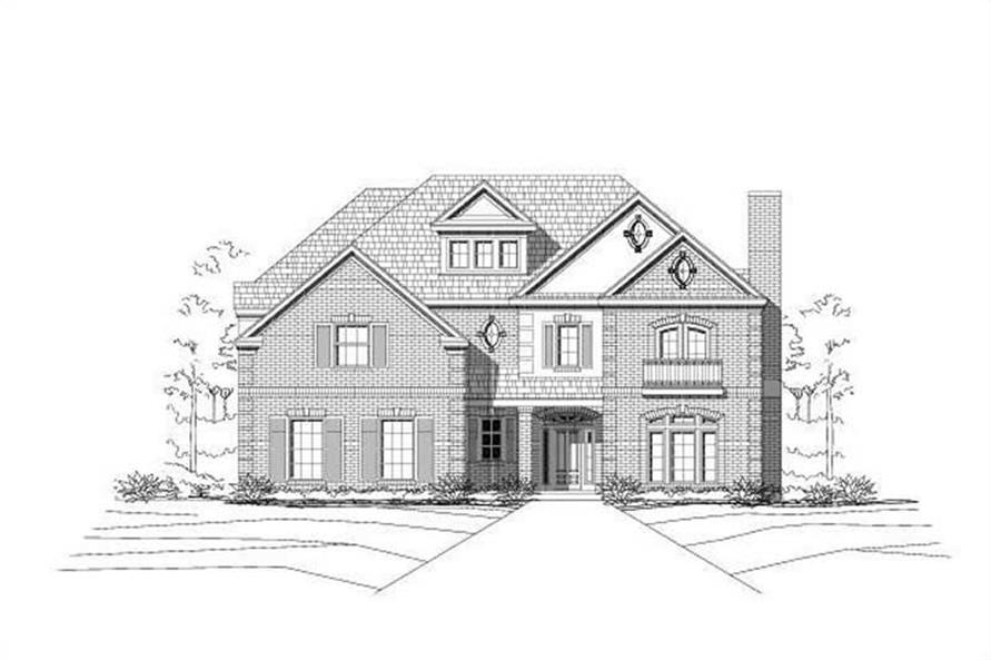 Main image for house plan # 16385