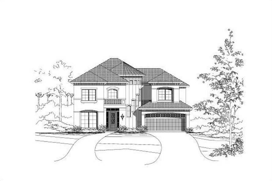 Main image for house plan # 16384