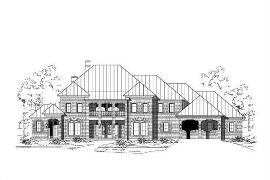 Main image for house plan # 16383