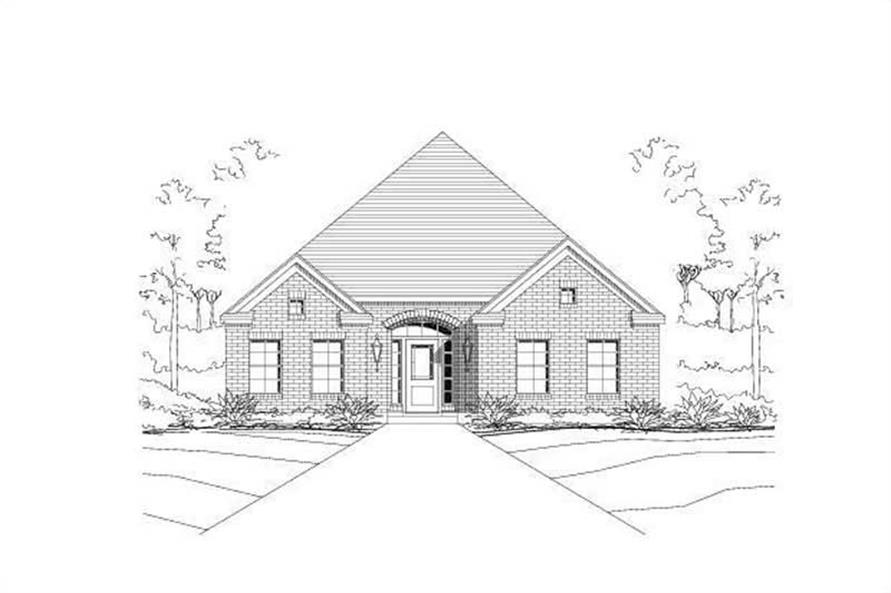 Main image for house plan # 16379
