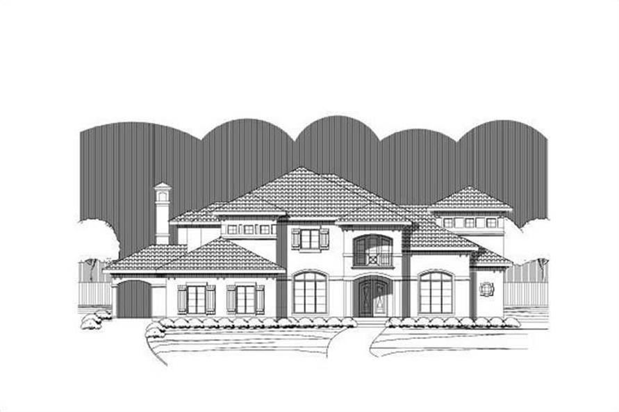 Main image for Luxury house plan # 16370