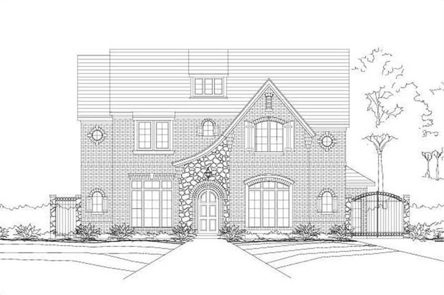 Main image for house plan # 16292