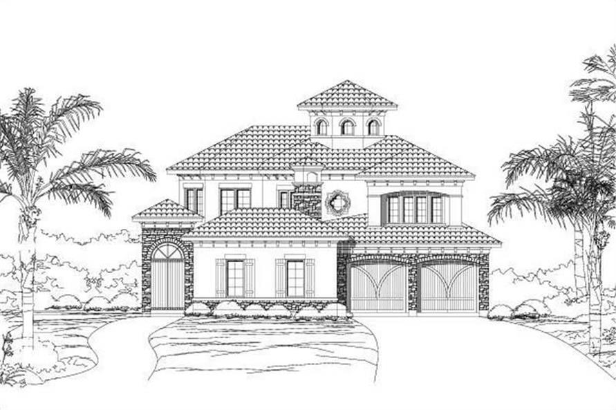 Main image for house plan # 16349