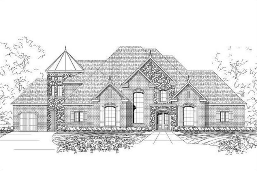Main image for house plan # 16279