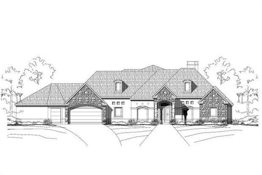 Main image for house plan # 16317
