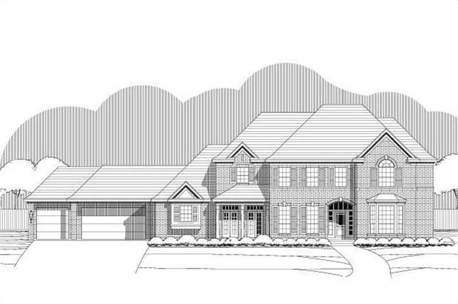 Main image for house plan # 16301