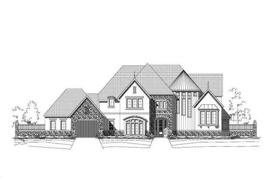 Main image for luxury house plan # 16361