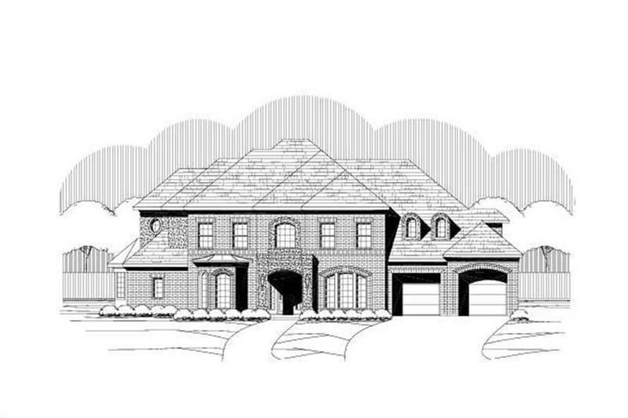 Main image for house plan # 16493