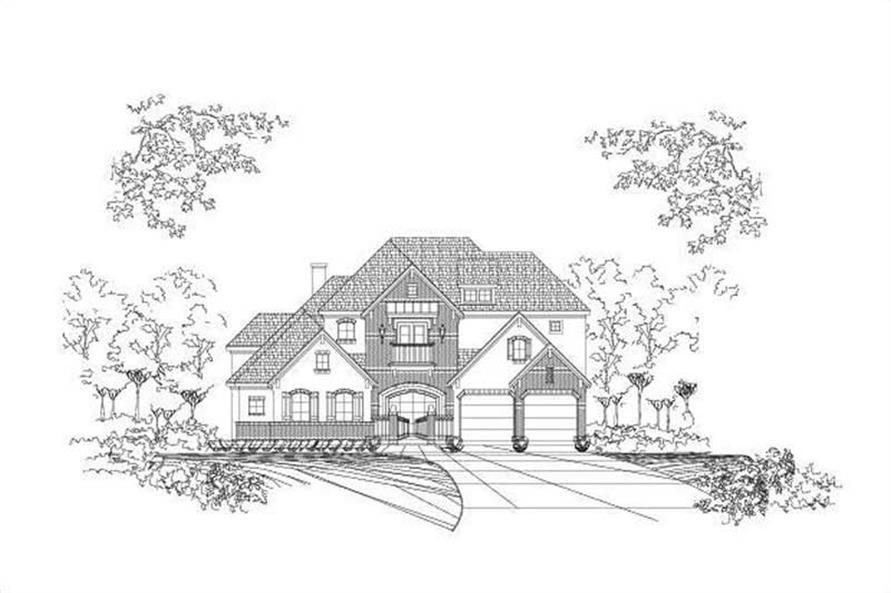Main image for house plan # 16353