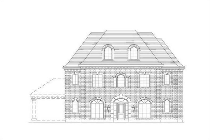 Main image for house plan # 16452