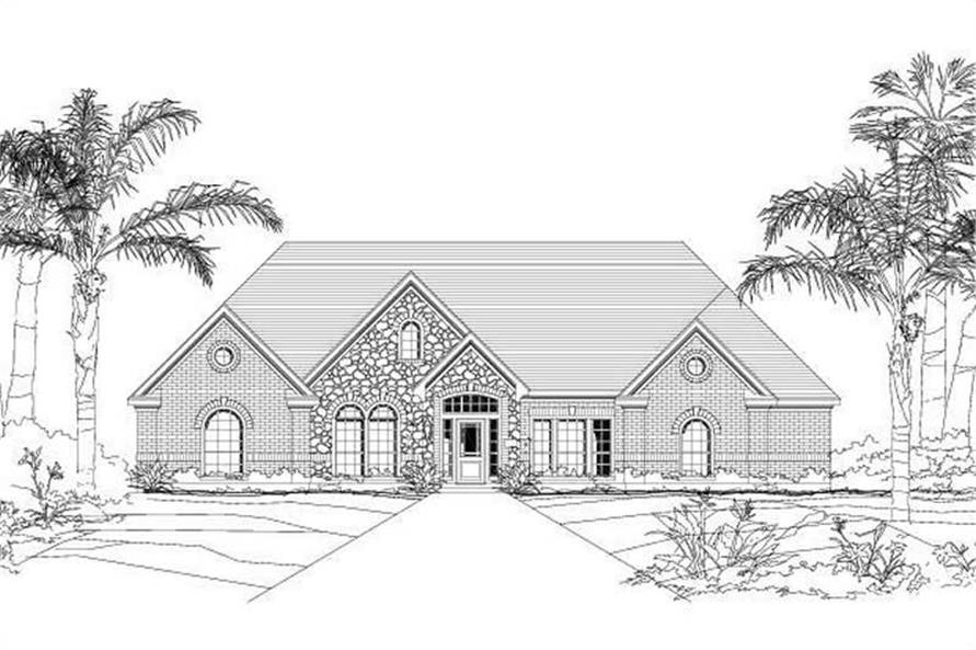 Main image for house plan # 16456