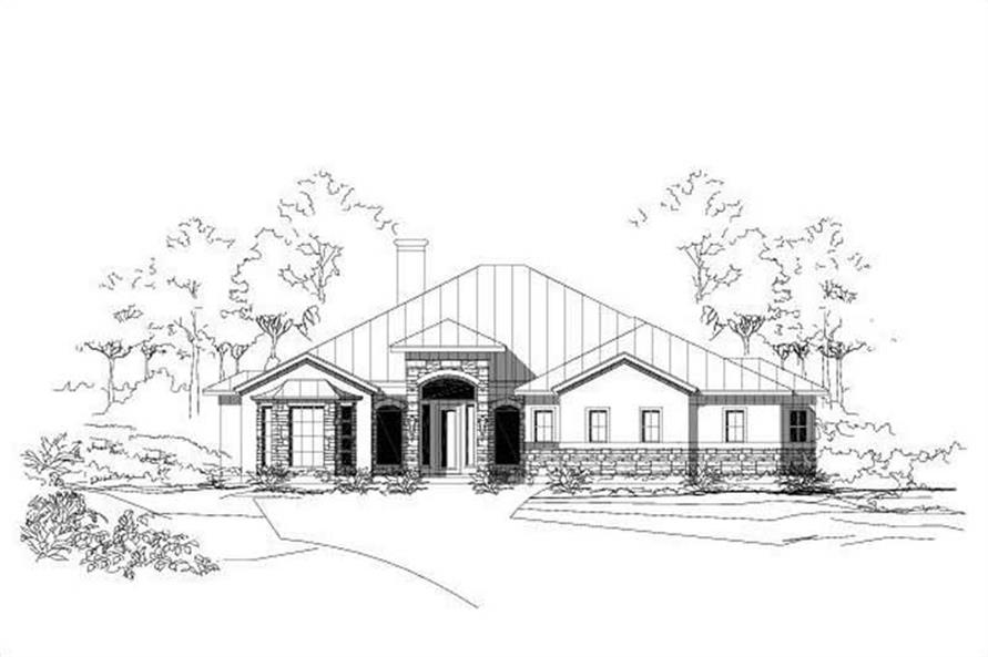 Main image for house plan # 16226