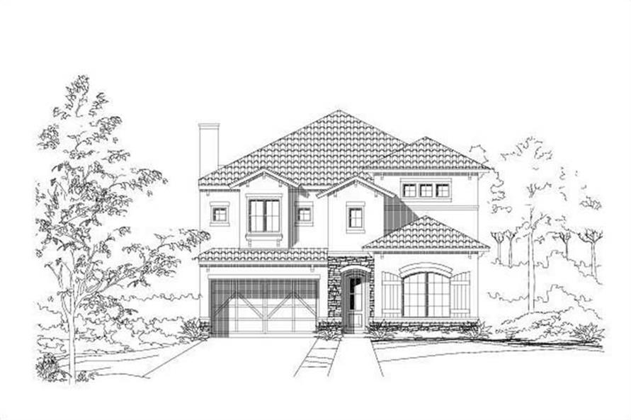 Main image for house plan # 16442