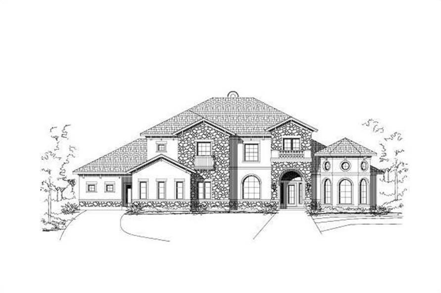 Main image for house plan # 16492