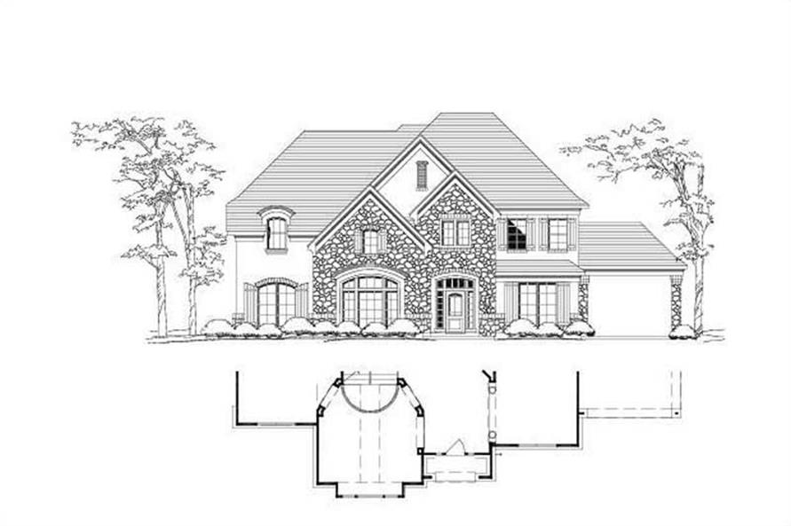 Main image for house plan # 16482