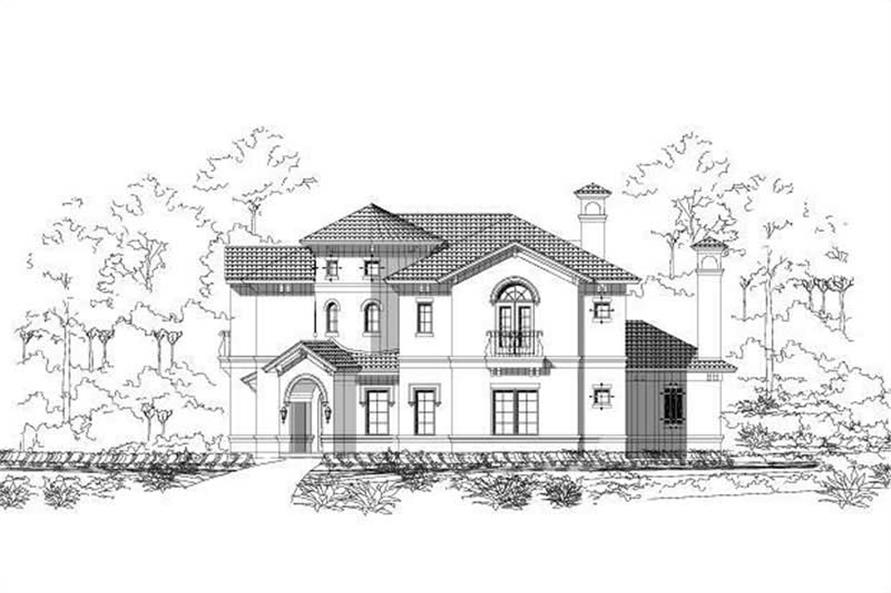 Main image for house plan # 16494