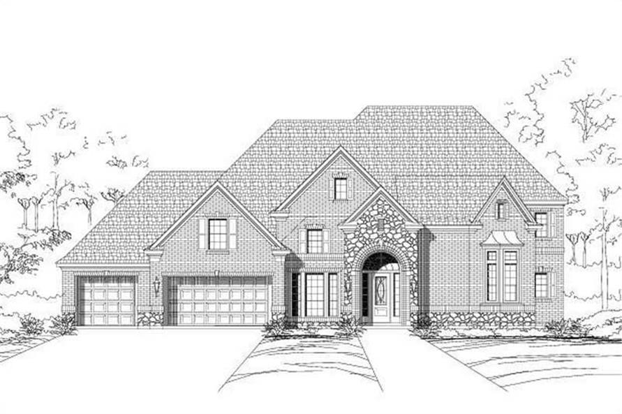 Main image for house plan # 16479