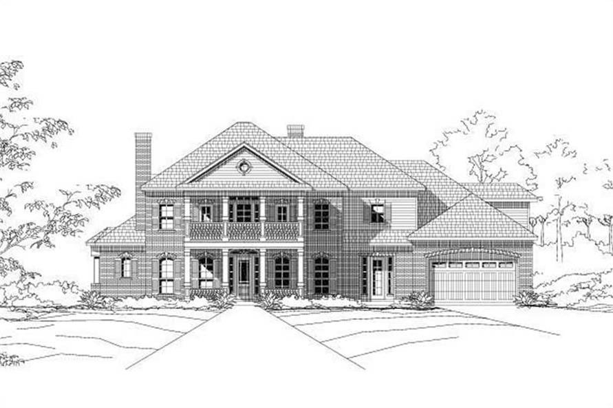 Main image for house plan # 16476