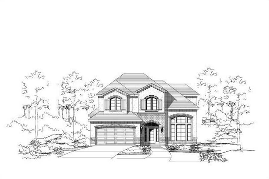 Main image for house plan # 16464