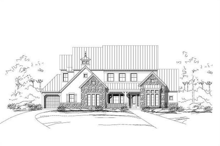 Main image for house plan # 16487