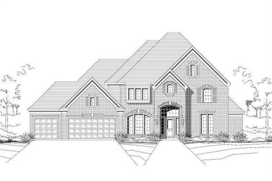 Main image for house plan # 16475