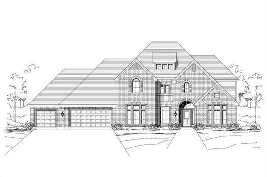 Main image for house plan # 16473